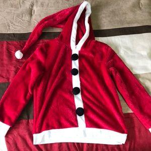Santa/elf sweater